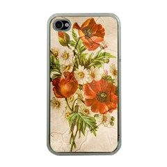 Poppy 2507631 960 720 Apple Iphone 4 Case (clear)