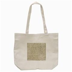 Handwritten Letter 2 Tote Bag (cream)
