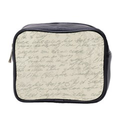 Handwritten Letter 2 Mini Toiletries Bag (two Sides)