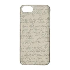 Handwritten Letter 2 Apple Iphone 7 Hardshell Case