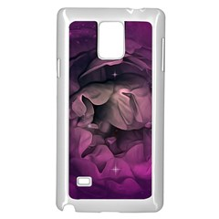 Wonderful Flower In Ultra Violet Colors Samsung Galaxy Note 4 Case (white)