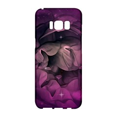Wonderful Flower In Ultra Violet Colors Samsung Galaxy S8 Hardshell Case