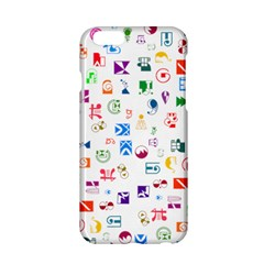 Colorful Abstract Symbols Apple Iphone 6/6s Hardshell Case