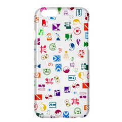 Colorful Abstract Symbols Apple Iphone 6 Plus/6s Plus Hardshell Case