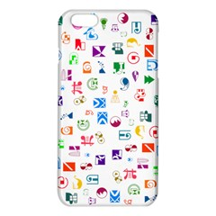 Colorful Abstract Symbols Iphone 6 Plus/6s Plus Tpu Case
