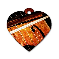 Cello Performs Classic Music Dog Tag Heart (one Side) by FunnyCow