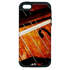 Cello Performs Classic Music Apple Iphone 5 Hardshell Case (pc+silicone)