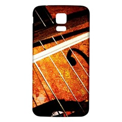 Cello Performs Classic Music Samsung Galaxy S5 Back Case (white) by FunnyCow
