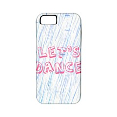 Let Us Dance Apple Iphone 5 Classic Hardshell Case (pc+silicone)