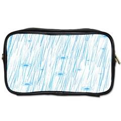 Let It Rain Toiletries Bag (two Sides)