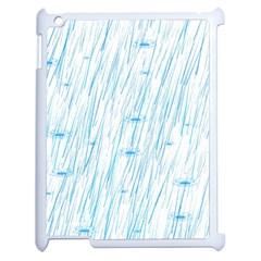 Let It Rain Apple Ipad 2 Case (white)
