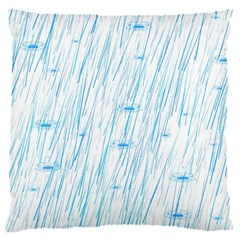 Let It Rain Large Cushion Case (two Sides)