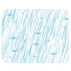 Let It Rain Double Sided Flano Blanket (medium)  by FunnyCow