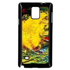 Yellow Chik Samsung Galaxy Note 4 Case (black)
