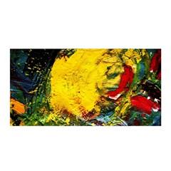 Yellow Chik Satin Wrap