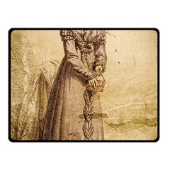 Lady 2507645 960 720 Fleece Blanket (small)