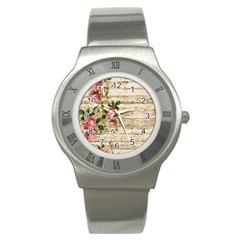 On Wood 2226067 1920 Stainless Steel Watch