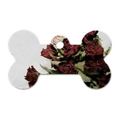 Roses 1802790 960 720 Dog Tag Bone (one Side)