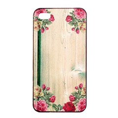 Roses 1944106 960 720 Apple Iphone 4/4s Seamless Case (black)