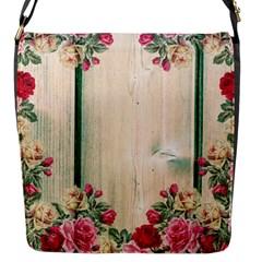 Roses 1944106 960 720 Flap Closure Messenger Bag (s)