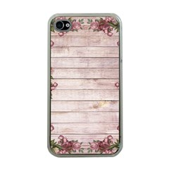 On Wood 1975944 1920 Apple Iphone 4 Case (clear) by vintage2030