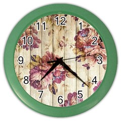 On Wood 1897174 1920 Color Wall Clock