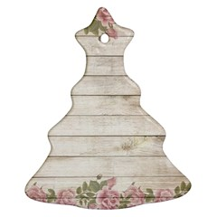 On Wood 2188537 1920 Christmas Tree Ornament (two Sides)
