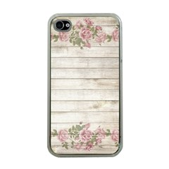 On Wood 2188537 1920 Apple Iphone 4 Case (clear)