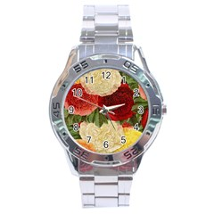 Flowers 1776429 1920 Stainless Steel Analogue Watch by vintage2030