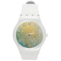 Abstract 1850416 960 720 Round Plastic Sport Watch (m)