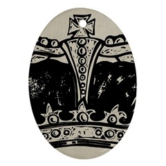 Crown 1515871 1280 Oval Ornament (two Sides)
