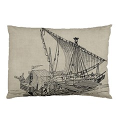 Ship 1515860 1280 Pillow Case (two Sides)
