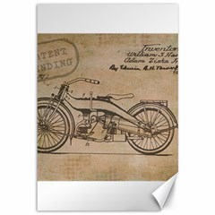 Motorcycle 1515873 1280 Canvas 12  X 18