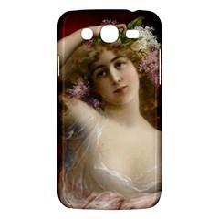 Victorian Lady In Pink Samsung Galaxy Mega 5 8 I9152 Hardshell Case
