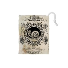 Snail 1618209 1280 Drawstring Pouch (small)