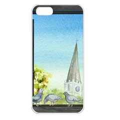 Town 1660455 1920 Apple Iphone 5 Seamless Case (white)