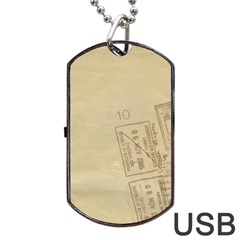 Background 1659638 1920 Dog Tag Usb Flash (two Sides)