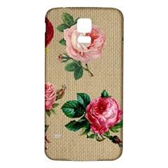 Flower 1770189 1920 Samsung Galaxy S5 Back Case (white)