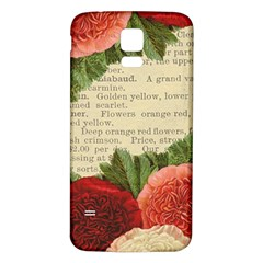 Flowers 1776422 1920 Samsung Galaxy S5 Back Case (white)