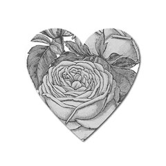 Flowers 1776610 1920 Heart Magnet by vintage2030