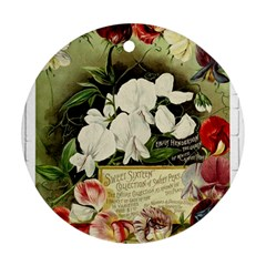 Flowers 1776617 1920 Ornament (round)