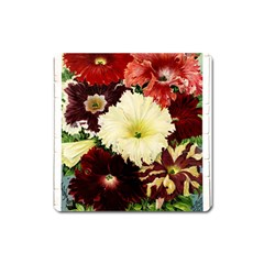 Flowers 1776585 1920 Square Magnet by vintage2030