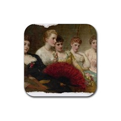 Vintage 1501598 1280 Rubber Coaster (square)