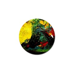 Yellow Chik 2 Golf Ball Marker (4 Pack)