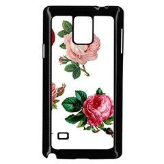Roses 1770165 1920 Samsung Galaxy Note 4 Case (black)