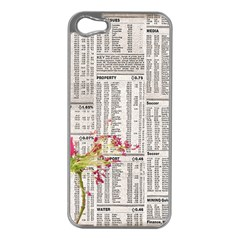 Background 1770129 1920 Apple Iphone 5 Case (silver)
