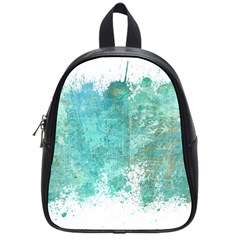 Splash Teal School Bag (small)