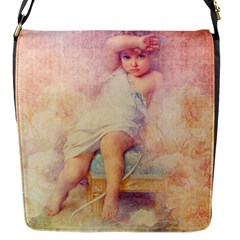 Baby In Clouds Flap Closure Messenger Bag (s)