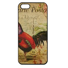 Rooster Apple Iphone 5 Seamless Case (black)