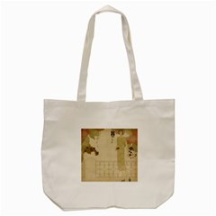 Twenties Girl Tote Bag (cream)